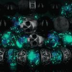 Bracelets tête de mort