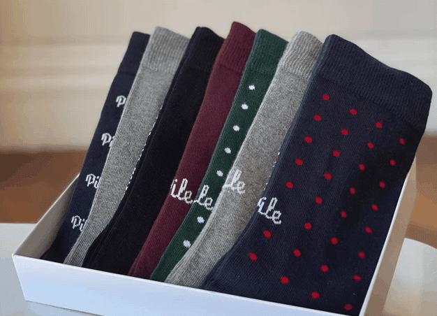 Coffret chaussettes pour les hommes
